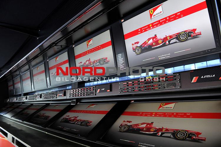 19.-22.09.2013, Marina-Bay-Street-Circuit, Singapur, SIN, F1, Grosser Preis von Singapur, Singapur, Scuderia Ferrari <br />  Foto &copy; nph / Mathis