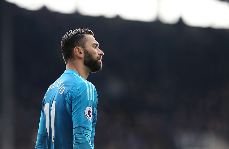 Wolverhampton Wanderers' Rui Patricio<br /> <br /> Photographer Rich Linley/CameraSport<br /> <br /> The Premier League - Burnley v Wolverhampton Wanderers - Saturday 30th March 2019 - Turf Moor - Burnley<br /> <br /> World Copyright © 2019 CameraSport. All rights reserved. 43 Linden Ave. Countesthorpe. Leicester. England. LE8 5PG - Tel: +44 (0) 116 277 4147 - admin@camerasport.com - www.camerasport.com