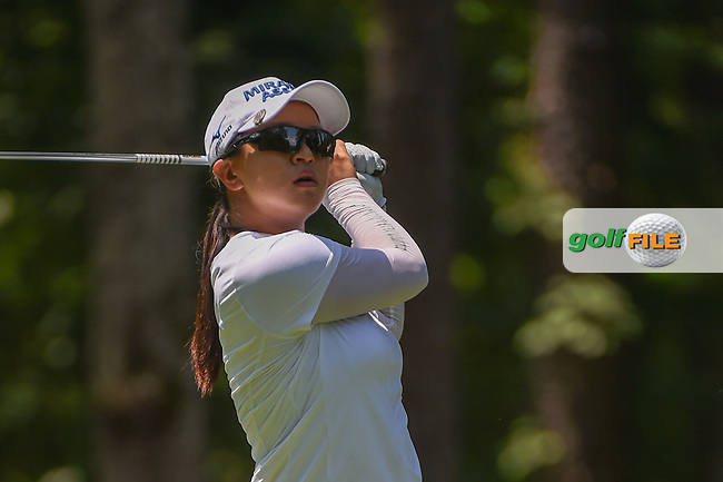 Sei Young Kim (KOR) watches her tee shot on 2 during round 1 of the U.S. Women's Open Championship, Shoal Creek Country Club, at Birmingham, Alabama, USA. 5/31/2018.<br /> Picture: Golffile | Ken Murray<br /> <br /> All photo usage must carry mandatory copyright credit (© Golffile | Ken Murray)