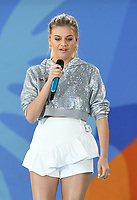 NEW YORK, NY - AUGUST 3: Kelsea Ballerini performs on ABC's Good Morning America&rsquo;s 2018 Summer Concert Series at Rumsey Playfield in NEw York City on August 3, 2018. <br /> CAP/MPI/JP<br /> &copy;JP/MPI/Capital Pictures