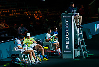 Rotterdam, The Netherlands, 14 Februari 2020, ABNAMRO World Tennis Tournament, Ahoy, Doubles: Henri Kontinen (FIN) and Jan-Lennard Struff (GER), Jamie Murray (GBR) and Neal Skypski (GBR). <br /> Photo: www.tennisimages.com