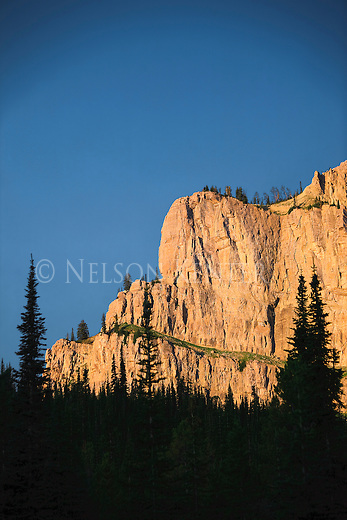 The Chinese Wall in the Bob Marshall Wilderness area in Montana