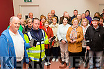 Together<br /> -------------<br /> Guest speaker Paul McKeown and Garda Brian O'Sullivan from Farronfour Garda station were at the front of a new Text Alert for Currow and district at the new church hall in the village last Thursday evening