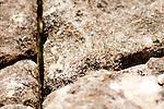 Fendas formadas entre as pedras - Paisagens brasileiras