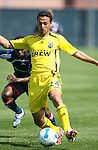 17 June 2007: Columbus's Jed Zaynor. The New England Revolution Reserves defeated the Columbus Crew Reserves 2-1 on the Gillette Stadium practice field in Foxboro, Massachusetts in a Major League Soccer Reserve Division game.