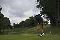 Paul Peterson (USA) on the 4th tee during Round 4 of the D+D Real Czech Masters at the Albatross Golf Resort, Prague, Czech Rep. 03/09/2017<br /> Picture: Golffile | Thos Caffrey<br /> <br /> <br /> All photo usage must carry mandatory copyright credit     (&copy; Golffile | Thos Caffrey)