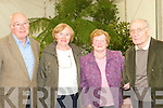 In Bloom.--------.Admiring the wonderful display of color at the marquee in the town park last Saturday evening at the Garden Festival were L-R John Dalton,Eta Dukes,Kathleen and Denis Maher all Tralee.   Copyright Kerry's Eye 2008