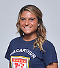Adrianna Montefusco of MacArthur poses for a portrait during the Newsday 2015 varsity girls' soccer season preview photo shoot at company headquarters on Thursday, September 10, 2015.<br /> <br /> James Escher
