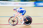Alzbeta Pavlendova of Slovakia competes in the Women's Points Race 25 km Final during the 2017 UCI Track Cycling World Championships on 16 April 2017, in Hong Kong Velodrome, Hong Kong, China. Photo by Marcio Rodrigo Machado / Power Sport Images