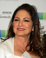Gloria Estefan arrives for the formal Artist's Dinner honoring the recipients of the 40th Annual Kennedy Center Honors hosted by United States Secretary of State Rex Tillerson at the US Department of State in Washington, D.C. on Saturday, December 2, 2017. The 2017 honorees are: American dancer and choreographer Carmen de Lavallade; Cuban American singer-songwriter and actress Gloria Estefan; American hip hop artist and entertainment icon LL COOL J; American television writer and producer Norman Lear; and American musician and record producer Lionel Richie.  <br /> Credit: Ron Sachs / Pool via CNP /MediaPunch