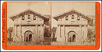 BNPS.co.uk (01202 558833)<br /> Pic: Bonhams/BNPS<br /> <br /> Mission Dolores the oldest surviving structure in San Francisco.<br /> <br /> A stunning collection of photos of San Francisco in the 1860s have been unearthed after 150 years.<br /> <br /> The fascinating images show the distinctive street scenes of the city 70 years before the iconic Golden Gate Bridge became its most celebrated landmark and 50 years before the infamous Alcatraz prison was built.<br /> <br /> Included in the collection of 247 images are photos of the Golden Gate, Alcatraz, Russian Hill, the Waterfront and Woodward's Gardens.<br /> <br /> The city which is universally known for its treacherously steep hills and spectacular scenery was captured in all its glory by American photographer Carleton E. Watkins.