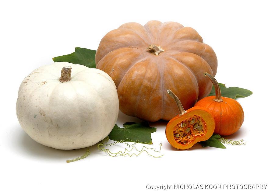 Pumpkins still life.