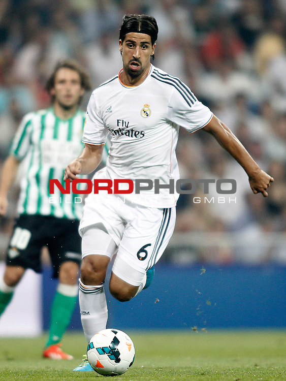 Real Madrid's Sami Khedira during La Liga match.August 18,2013. Foto © nph / Acero)