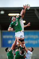 Forwards compete for the ball at a lineout. World Rugby U20 Championship Final between England U20 and Ireland U20 on June 25, 2016 at the AJ Bell Stadium in Manchester, England. Photo by: Patrick Khachfe / Onside Images