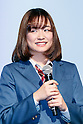 Actress Sakurako Ohara speaks during a news conference to announce the Japanese telecommunications giant SoftBank's 2017 spring promotions on January 16 2017, Tokyo, Japan. SoftBank launched a new Super Student mobile plan for young users, and also announced discounts available to their customers through retail partners such as FamilyMart, Sunkus, Baskin Robbins, and Yahoo Japan Shopping. Canadian pop star Justin Bieber, who features in SoftBank's new promotion campaign sent a video message which was screened during the conference. In Japan spring is the season where students start a new school year and graduates begin work. (Photo by Rodrigo Reyes Marin/AFLO)