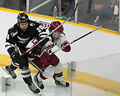Adam Baughman (Harvard - 20), Shane Kavanagh (PC - 17) - The Harvard University Crimson defeated the Providence College Friars 3-0 in their NCAA East regional semi-final on Friday, March 24, 2017, at Dunkin' Donuts Center in Providence, Rhode Island.