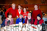 Enjoying the Abbeydorney/Kilfynn Senior Citizens Christmas Party at Ballyroe Heights, Tralee, on Sunday last were front l-r: Joan Moriarty, Margaret Fitzmaurice, Geraldine Riordan and Nora Riordan. Back l-r: Pat Hussey, Joan Hussey, Sadie Parkinson and Patrick Browne.