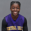 Naabea Assibey-Bonsu of Central Islip poses for a portrait during Newsday's 2017-18 varsity girls basketball season preview photo shoot at company headquarters in Melville on Monday, Dec. 4, 2017.
