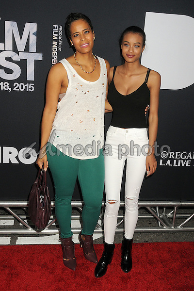 "8 June 2015 - Los Angeles, California - Daphne Wayans, Nala Wayans. LA Film Festival 2015 Premiere of ""Dope"" held at Regal Cinemas L.A. Live. Photo Credit: Byron Purvis/AdMedia"