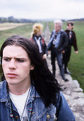 Apr 1985: THE CULT - Photosession in Carlisle UK