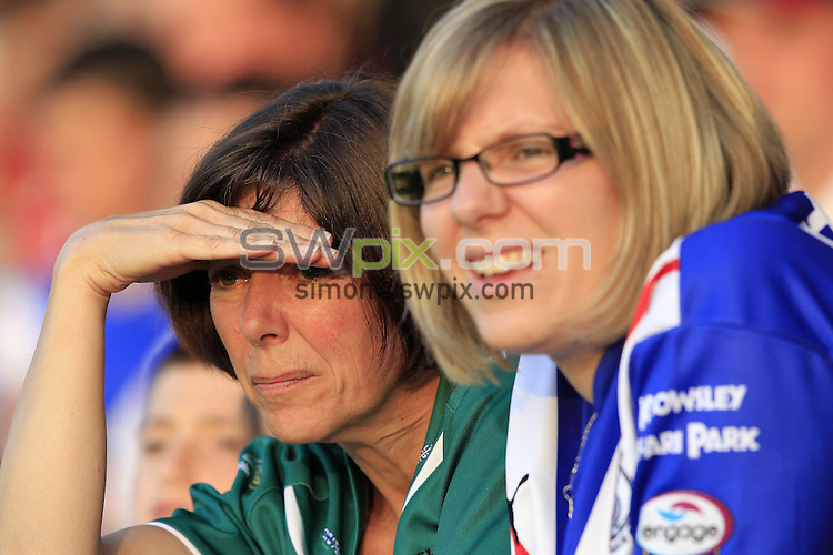 Pix: Chris Mangnall /SWPix.com, Rugby League, Super League. 25/06/10 St Helens Saints v Salford City Reds....picture copyright>>Simon Wilkinson>>07811267 706>>....St Helens Fan