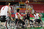 Renshi Chokai (JPN),<br /> SEPTEMBER 15, 2016 - Wheelchair Basketball : <br /> 9th place match between Japan 65-52 Iran<br /> at Rio Olympic Arena<br /> during the Rio 2016 Paralympic Games in Rio de Janeiro, Brazil.<br /> (Photo by Shingo Ito/AFLO)