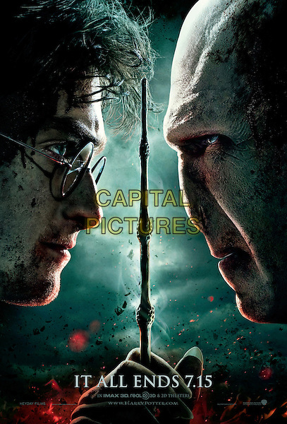 TEASER ONE SHEET POSTER ART.in Harry Potter and the Deathly Hallows: Part 2 .*Filmstill - Editorial Use Only*.CAP/FB.Supplied by Capital Pictures.