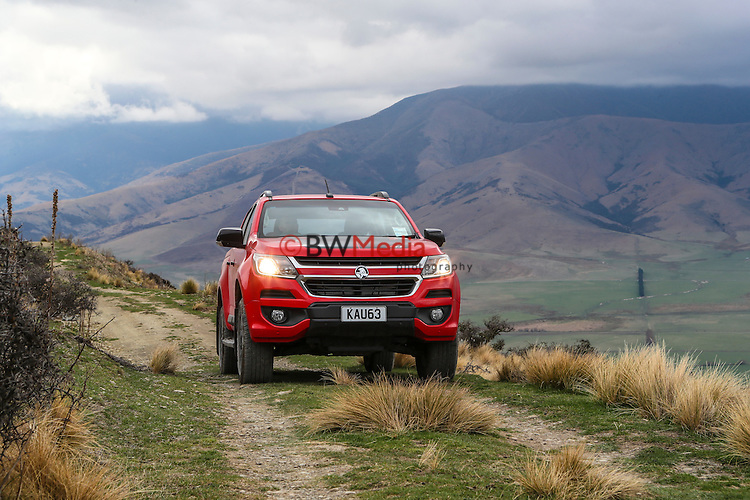 Holden New Zealand Colorado Release Media Shots, Christchurch and Lees Valley, South Island, New Zealand,Monday 19th September 2016. Photo: Simon Watts/www.bwmedia.co.nz