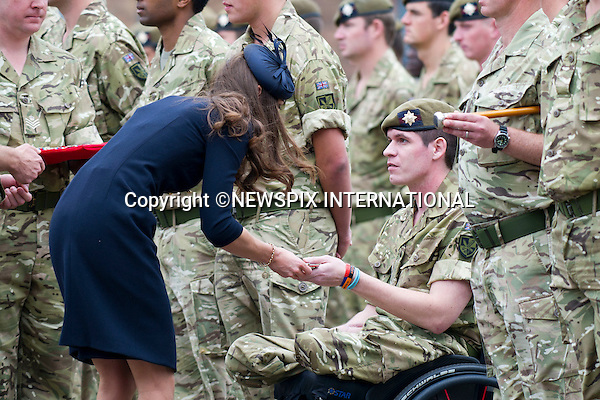 "PRINCE WILLIAM and CATHERINE, Duchess of Cambridge..Attend Irish Guards medal ceremony, Victoria Barracks, Windsor_25/06/2011..Mandatory Photo Credit: ©Dias/Newspix International..**ALL FEES PAYABLE TO: ""NEWSPIX INTERNATIONAL""**..PHOTO CREDIT MANDATORY!!: NEWSPIX INTERNATIONAL(Failure to credit will incur a surcharge of 100% of reproduction fees)..IMMEDIATE CONFIRMATION OF USAGE REQUIRED:.Newspix International, 31 Chinnery Hill, Bishop's Stortford, ENGLAND CM23 3PS.Tel:+441279 324672  ; Fax: +441279656877.Mobile:  0777568 1153.e-mail: info@newspixinternational.co.uk"