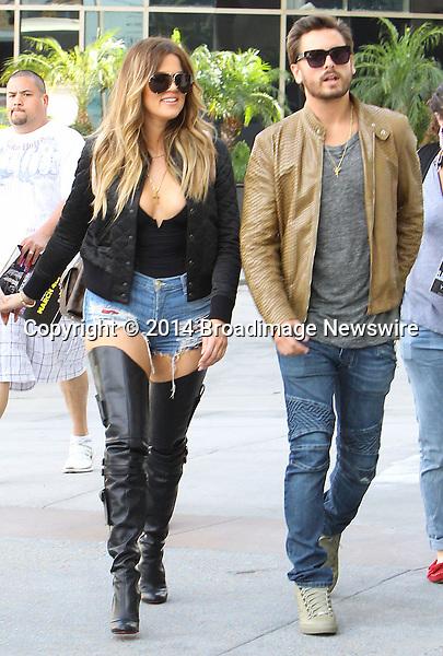 Pictured: Kendall Jenner, Khloe Kardashian, Scott Disick<br /> Mandatory Credit &copy; ACLA/Broadimage<br /> Khloe Kardashian arriving at Loews Hollywood Hotel<br /> <br /> 3/7/14, Hollywood, California, United States of America<br /> <br /> Broadimage Newswire<br /> Los Angeles 1+  (310) 301-1027<br /> New York      1+  (646) 827-9134<br /> sales@broadimage.com<br /> http://www.broadimage.com