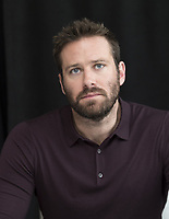 Armie Hammer at the Hotel Mumbai press conference in New York City on 17 March 2019. Credit: Magnus Sundholm/Action Press/MediaPunch ***FOR USA ONLY***