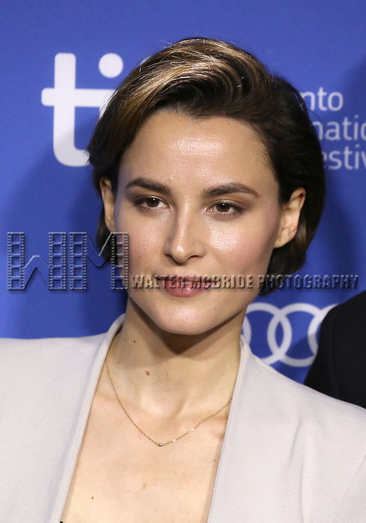 """Loan Chabanol attending the 2013 Tiff Film Festival Photo Call for """"Third Person""""  at the Tiff Bell Lightbox on September 10, 2013 in Toronto, Canada."""