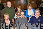 Party Time - Staff from Bamboo Babies, Ardfert pictured enjoying their Xmas party held in Kate Browne's Pub on Saturday. Seated l/r Kay & Billy Revington and Stephen Baker, standing l/r Michael & Sharon Corrigan and Linda Baker.