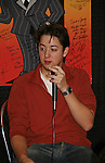 Bradford Anderson - General Hospital - appeared by way of Coastal Entertainment on December 6, 2009 at Uncle Vinny's/Ferrera's Cafe in Point Pleasant, New Jersey. They sang for the fans, answered questions, signed photos and posed for photos. (Photos by Sue Coflin/Max Photos)