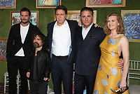 HOLLYWOOD, CA - OCTOBER 4: Sacha Gervasi, Jamie Dornan, Peter Dinklage, Andy Garcia, Mireille Enos, at the HBO Films' &quot;My Dinner With Herve&quot; Premiere at Paramount Studios in Hollywood, California on October 4, 2018    <br /> CAP/MPI/FS<br /> &copy;FS/MPI/Capital Pictures