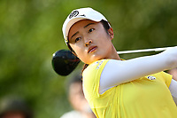 SINGAPORE - MARCH 02: Yu Liu of China on the 1st tee during the third round of the HSBC Women's World Championship 2019 at Sentosa Golf Club - Tanjong Course, Singapore on March 02, 2019.<br /> .<br /> .<br /> .<br /> (Photo by: Naratip Golf Srisupab/SEALs Sports Images)<br /> .<br /> Any image use must include a mandatory credit line adjacent to the content which should read: Naratip Golf Srisupab/SEALs Sports Images