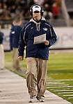 November 12, 2011:  Nevada head coach Cris Ault during a WAC league gamevs Hawaii played at Mackay Stadium in Reno, Nevada.