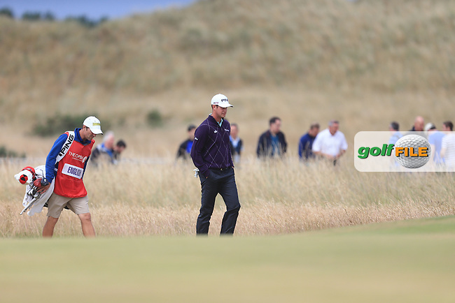 Harris ENGLISH (USA) during round 4 of  The 142th Open Championship Muirfield, Gullane, East Lothian, Scotland 21/7/2013<br /> Picture Fran Caffrey www.golffile.ie: