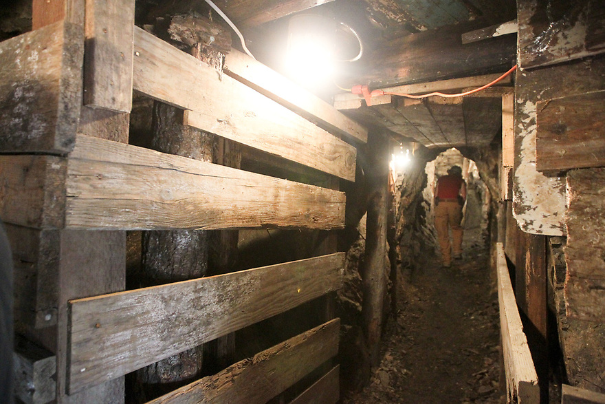 Exploring an actual gold mine.<br /> <br /> Spent the weekend with Prospectors Plus checking out the gold claims in Liberty, WA.  Photo credit Jesse Beals / www.Olympicphotogroup.com