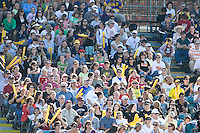 FC Gold Pride fans. FC Gold Pride defeated the Boston Breakers, 2-1, in their home opener on April 5, 2009 at Buck Shaw Stadium in Santa Clara, CA.