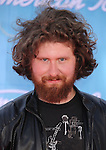 LOS ANGELES, {CA} -MAY 23: Casey Abrams arrives at 'American Idol' Season 11 Grand Finale Show at Nokia Theatre L.A. Live on May 23, 2012 in Los Angeles, California.