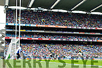Stephen O'Brien, scores Kerry's Sixth goal in the All Ireland Quarter Final at Croke Park on Sunday.