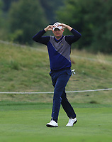 James Morrison (ENG) on the 5th fairway during Round 3 of the D+D Real Czech Masters at the Albatross Golf Resort, Prague, Czech Rep. 02/09/2017<br /> Picture: Golffile | Thos Caffrey<br /> <br /> <br /> All photo usage must carry mandatory copyright credit     (&copy; Golffile | Thos Caffrey)