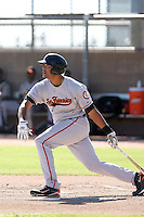 Chris Dominguez - San Francisco Giants - 2010 Instructional League.Photo by:  Bill Mitchell/Four Seam Images..