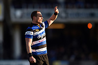 Jack Wilson of Bath Rugby. Aviva Premiership match, between Bath Rugby and Sale Sharks on February 24, 2018 at the Recreation Ground in Bath, England. Photo by: Patrick Khachfe / Onside Images