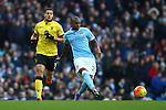 Fernandinho of Manchester City - Barclay's Premier League - Manchester City vs Aston Villa - Etihad Stadium - Manchester - 05/03/2016 Pic Philip Oldham/SportImage