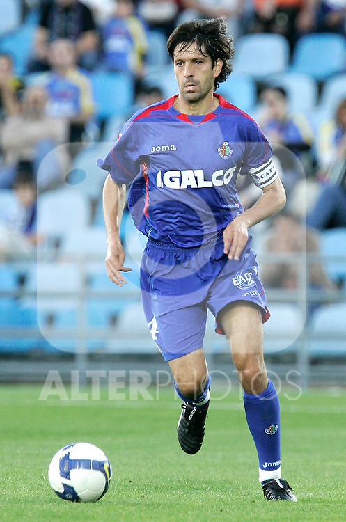 Getafe's David Belenguer during La Liga match, October 26, 2008. (ALTERPHOTOS/Alvaro Hernandez)