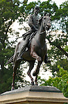 Equestrian Statue, Major General Philip Kearny Monument, Arlington National Cemetery, Arlington, Virginia