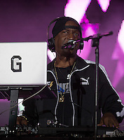 Grandmaster Flash performs during The New Look Wireless Music Festival at Finsbury Park, London, England on Sunday 05 July 2015. Photo by Andy Rowland.