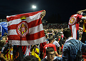 June 4th 2017, Estadi Montilivi,  Girona, Catalonia, Spain; Spanish Segunda División Football, Girona versus Zaragoza; Fan celebration on the pitch as their team escapes with a draw and are promoted to La Liga for 2017-18 season